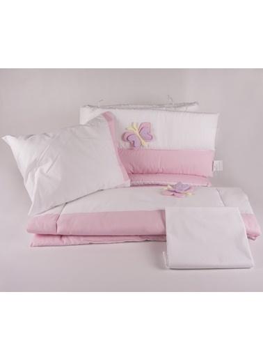 Butterfly Park Yatak Uyku Setı (Kenar Korumalı 6 Parça)-Aybibaby